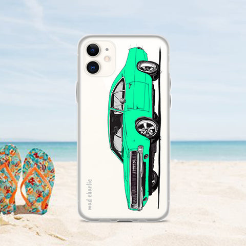 CHARGER Amazing Mad Charlie's Turquoise IPHONE CASE - madcharliestore