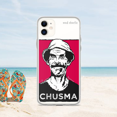 CHUSMA Amazing Mad Charlie's Pink IPHONE CASE - madcharliestore