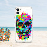COLOR SKULL Amazing Mad Charlie's IPHONE CASE - madcharliestore