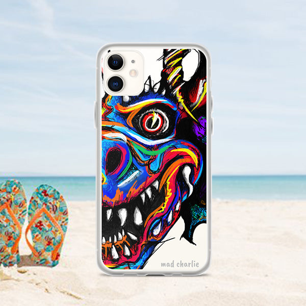 CRAZY DANZING DEVIL Amazing Mad Charlie's IPHONE CASE - madcharliestore