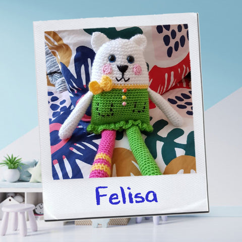 AMIGURUMI - Felisa - Unique Sweet Crochet Friend