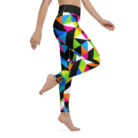 COLORFEST Amazing Mad Charlie's Yoga Leggings