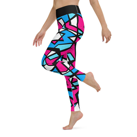 SABOTAGE Amazing Mad Charlie's Yoga Leggings