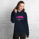 LIFE'S TOO SHORT Amazing Mad Charlie's Pink Charger Dark Colors UNISEX Hoody - madcharliestore