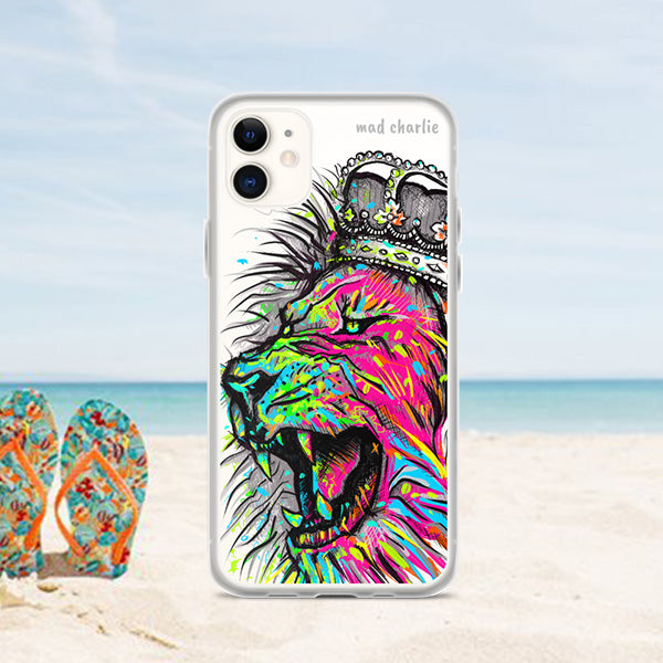 COLOR LION Amazing Mad Charlie's IPHONE CASE - madcharliestore