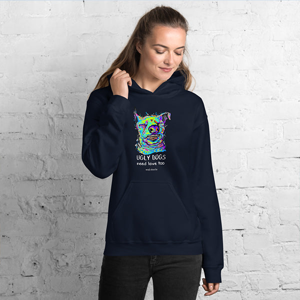 UGLY DOGS Amazing Mad Charlie's Dark UNISEX Hoody - madcharliestore