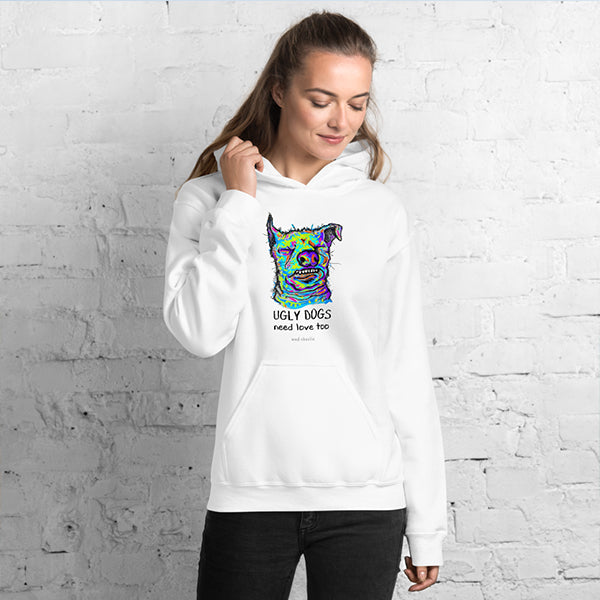 UGLY DOGS Amazing Mad Charlie's UNISEX Hoody - madcharliestore