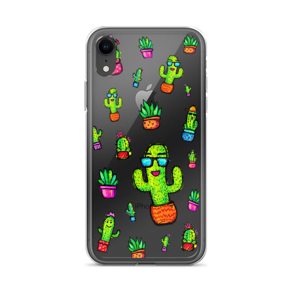COOL CACTUS Amazing Mad Charlie's IPHONE CASE - madcharliestore