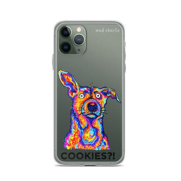 COOKIES DOG Amazing Mad Charlie's IPHONE CASE - madcharliestore