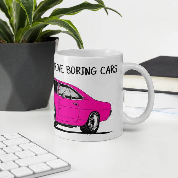 LIFE'S TOO SHORT Amazing Mad Charlie's Pink Charger Coffee Mug - madcharliestore