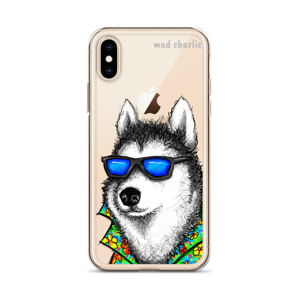 MIAMI HUSKY Amazing Mad Charlie's IPHONE CASE - madcharliestore