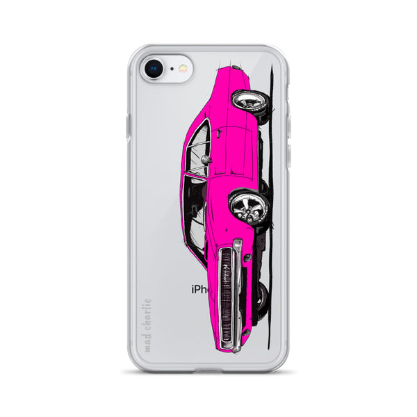 CHARGER Amazing Mad Charlie's Pink IPHONE CASE - madcharliestore