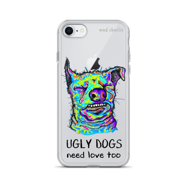 UGLY DOGS Amazing Mad Charlie's IPHONE CASE - madcharliestore