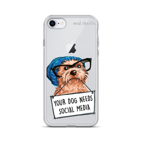 MEDIA DOG Amazing Mad Charlie's IPHONE CASE - madcharliestore