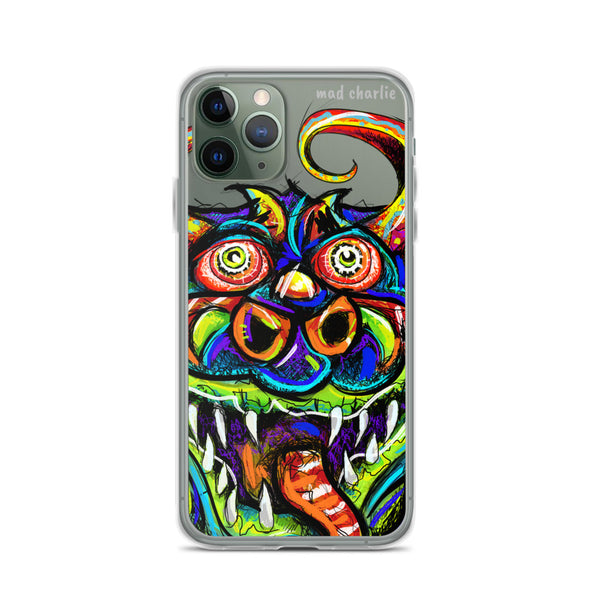 HAPPY DANZING DEVIL Amazing Mad Charlie's IPHONE CASE - madcharliestore