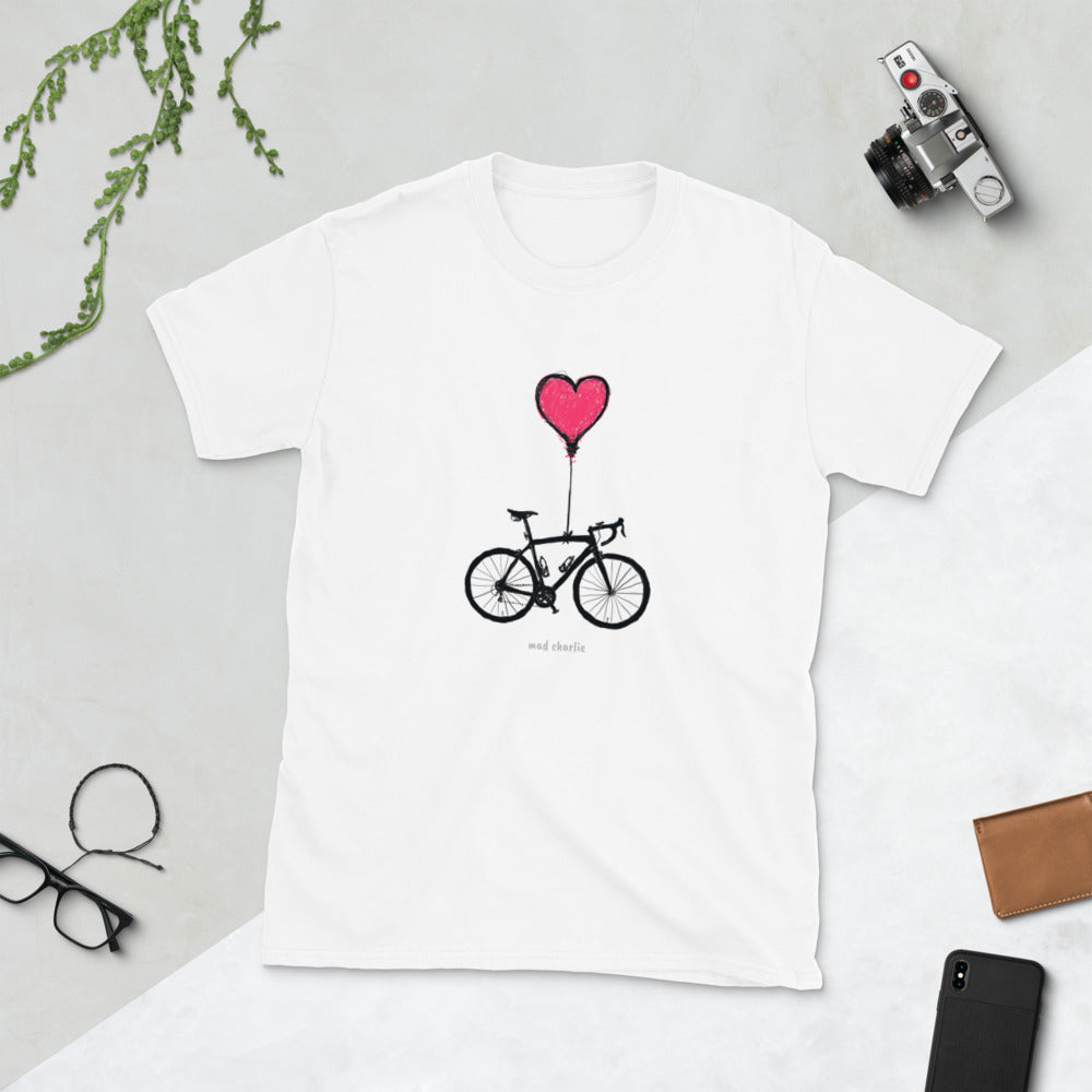 TRUE BIKE LOVE Amazing Mad Charlie's Short Sleeve UNISEX T-SHIRT
