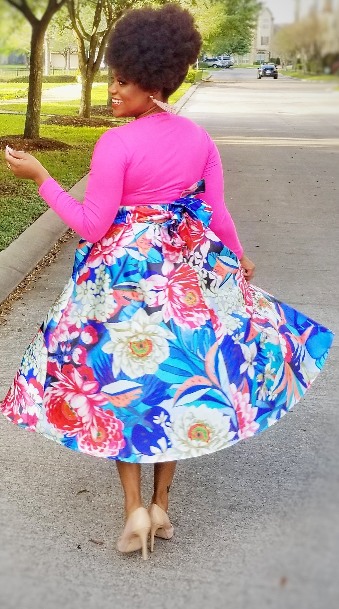 Floral Fields Skirt  - ONLY 1 LEFT!