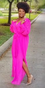 Pretty in Hot Pink Maxi  - ONLY 1 LEFT!