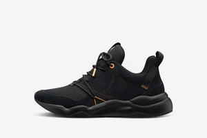 ARKK Copenhagen - Superior Line Asymtrix Suede F-PRO90 Black Mock Orange - Women Asymtrix Black