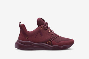 ARKK Copenhagen - Superior Line Asymtrix Suede F-PRO90 Oxblood Red Mock Orange - Women Asymtrix Oxblood Red