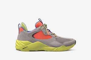 ARKK Collection Kanetyk Suede W13 Ash Neon Lime - Women Kanetyk