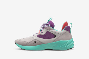 ARKK Collection Kanetyk Suede W13 Light Purple Bermuda - Women Kanetyk