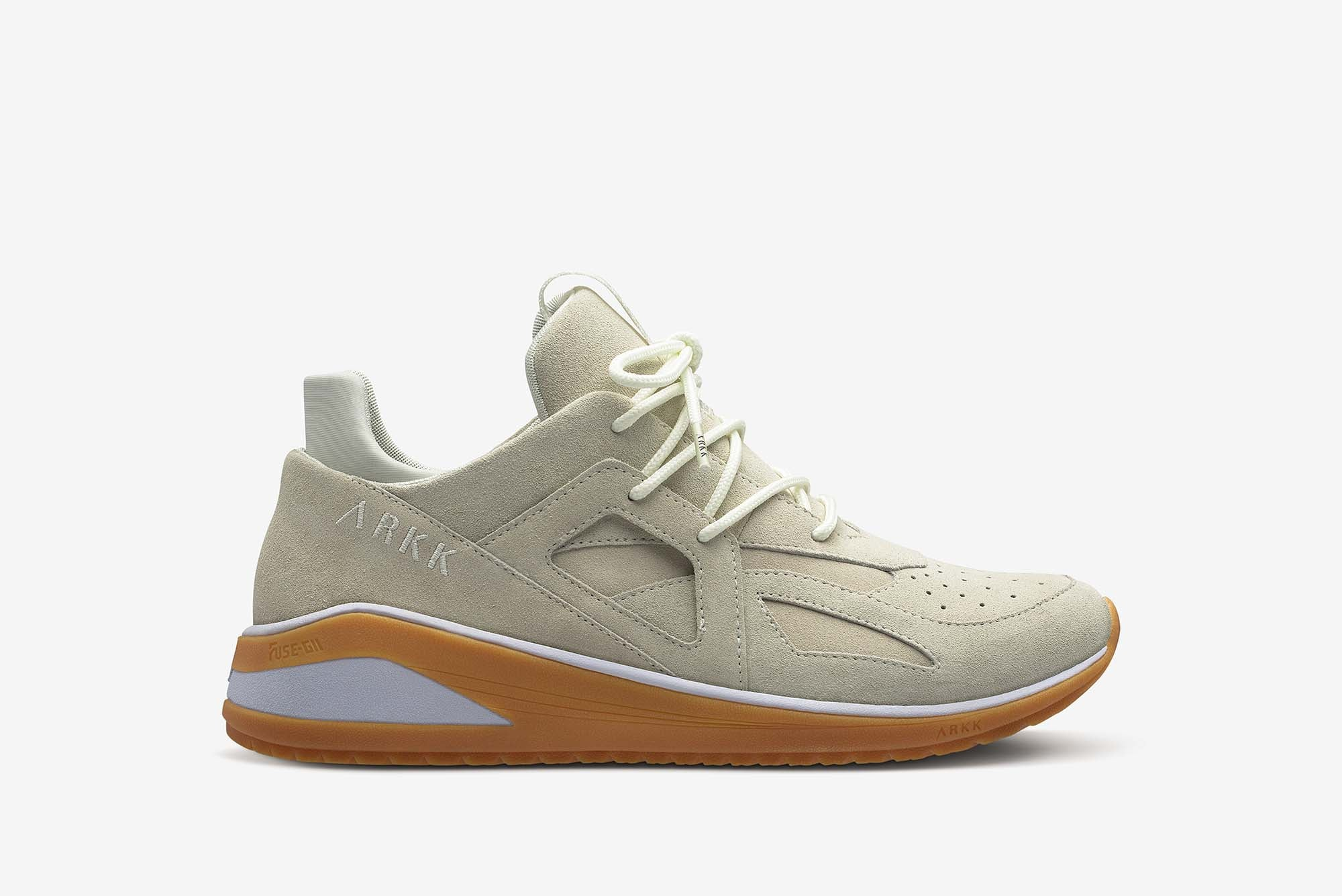 ARKK Copenhagen - Main Line Solianze Suede F-G2 Off White Light Gum - Women Solianze Off White