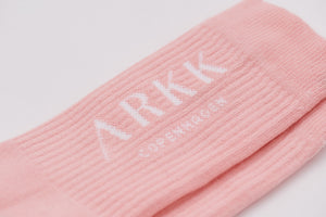 ARKK Accessories The High Sock - Essential Powder Pink White The High Sock - Essential