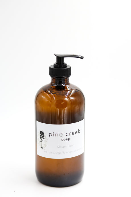 Pine Creek Soap - Maupin Blend