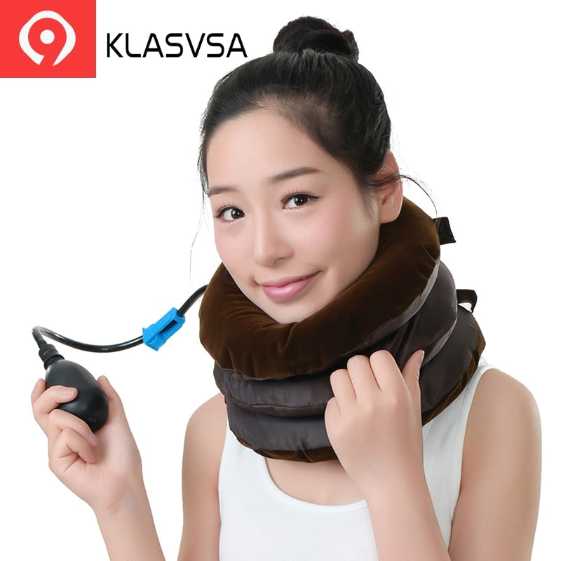 Cervical Neck Traction Pillow