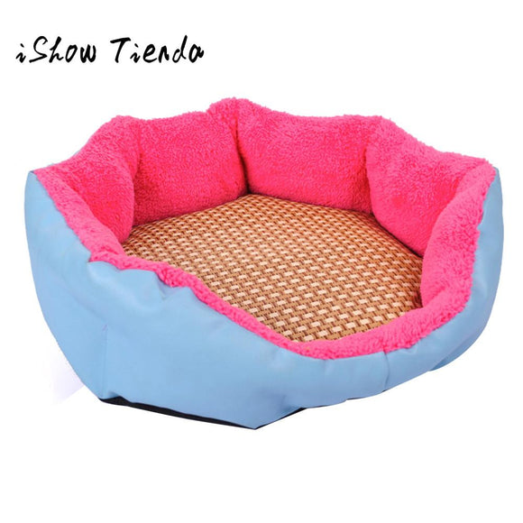 NEW Cozy Dog Pet Summer Sleeping Mat Bed Puppy Cat Doggie Cooling Pad Cushion Alfombra Para Mascotas#B0