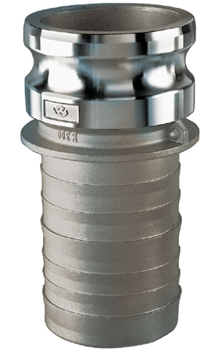 2 ID Stainless Steel 2 2 ID 2 Campbell Fittings E-316-200 Cam and Groove 316 Stainless