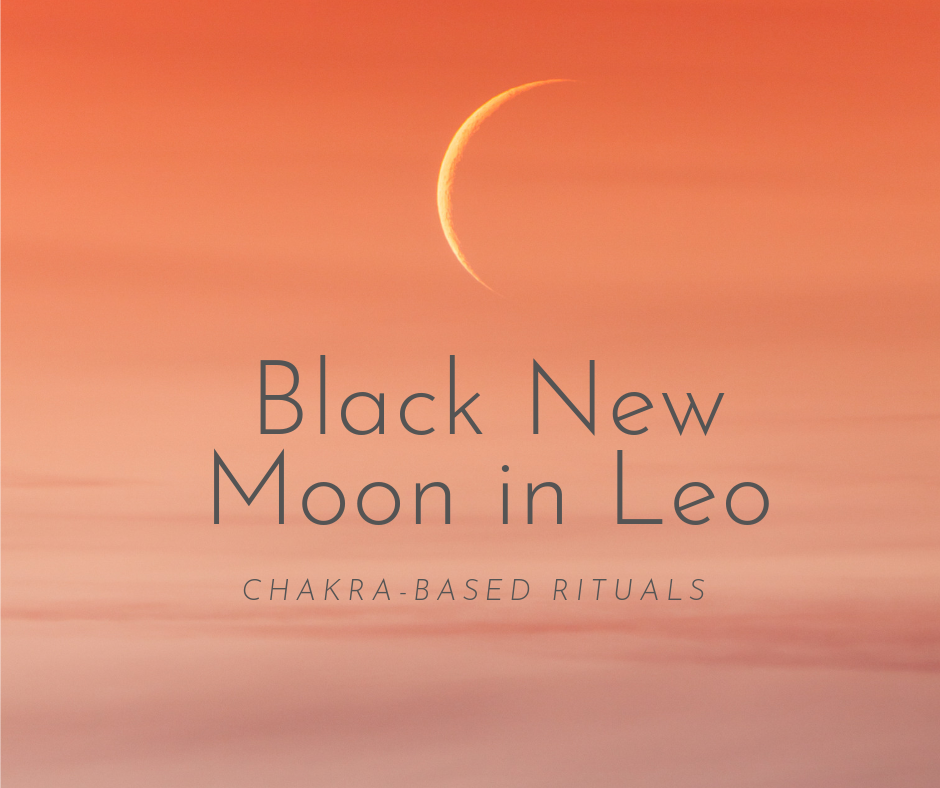 Black New Moon in Leo