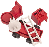 Luke's Toy Factory Eco-Friendly 3-D Puzzle Fire Truck