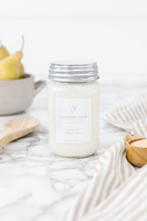 Country Pear by Cotton Stem 16 oz Candle