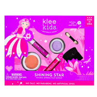 SHINING STAR - KLEE KIDS NATURAL PRESSED POWDER MINERAL PLAY MAKEUP SET