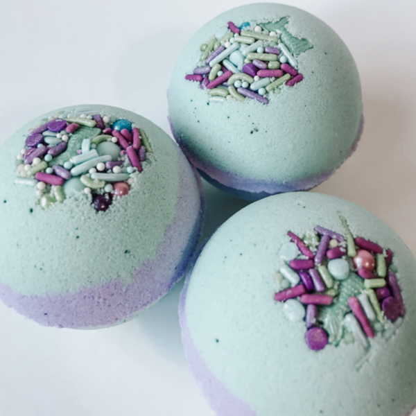 Mermaid Bubble Bath Bomb