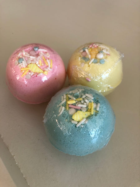Ice Cream Bubble Bath Bomb