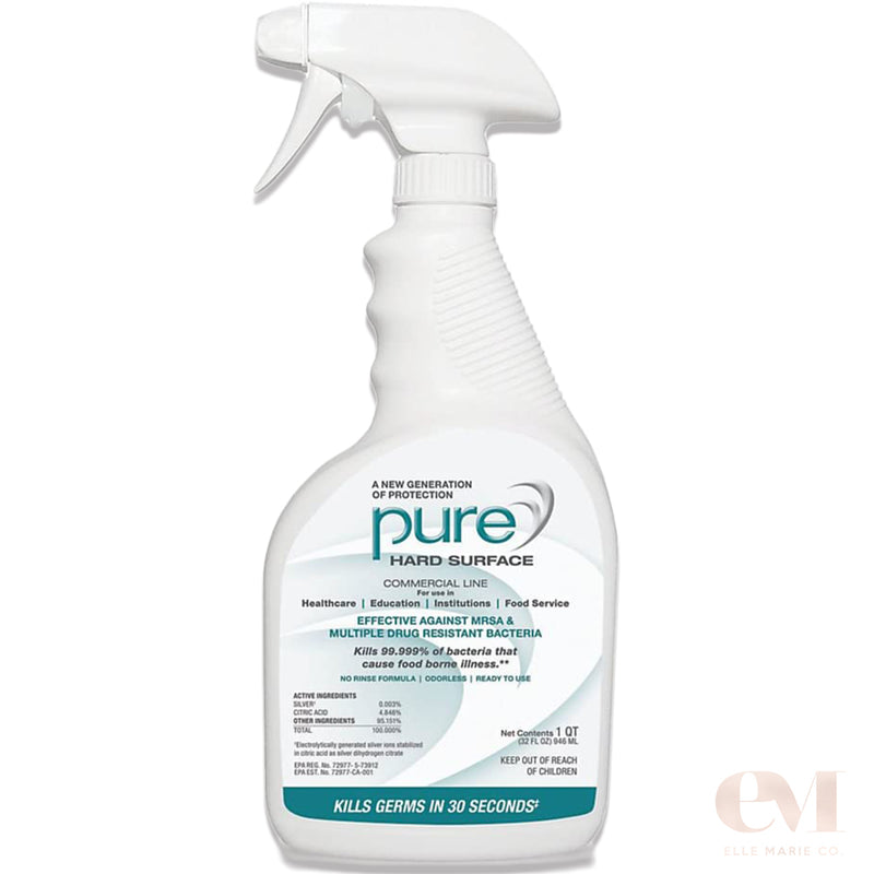 PURE Hard Surface Disinfectant and Sanitizer, 32 Oz