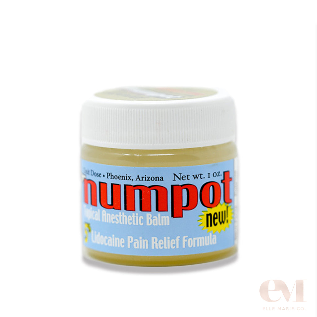 numbpot gold topical anesthetic ointment offers pain relief for intact skin eyebrows brows lips eyelids eyeliner paintstoppers elle marie co perrmablend li pigment tina davies