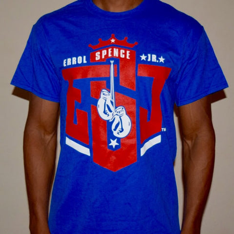 "ESJ ""Logo"" T-shirt (Blue/Red)"