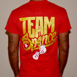 "ESJ ""Logo"" T-shirt (Red/Gold)"