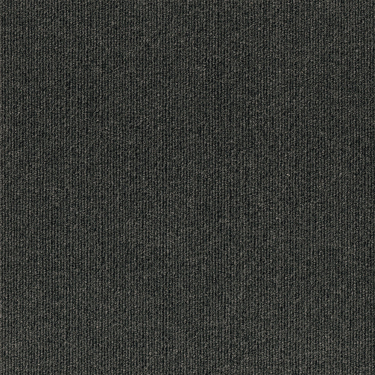 Compass 18'' X 18'' Premium Peel And Stick Carpet Tiles (Black Ice)