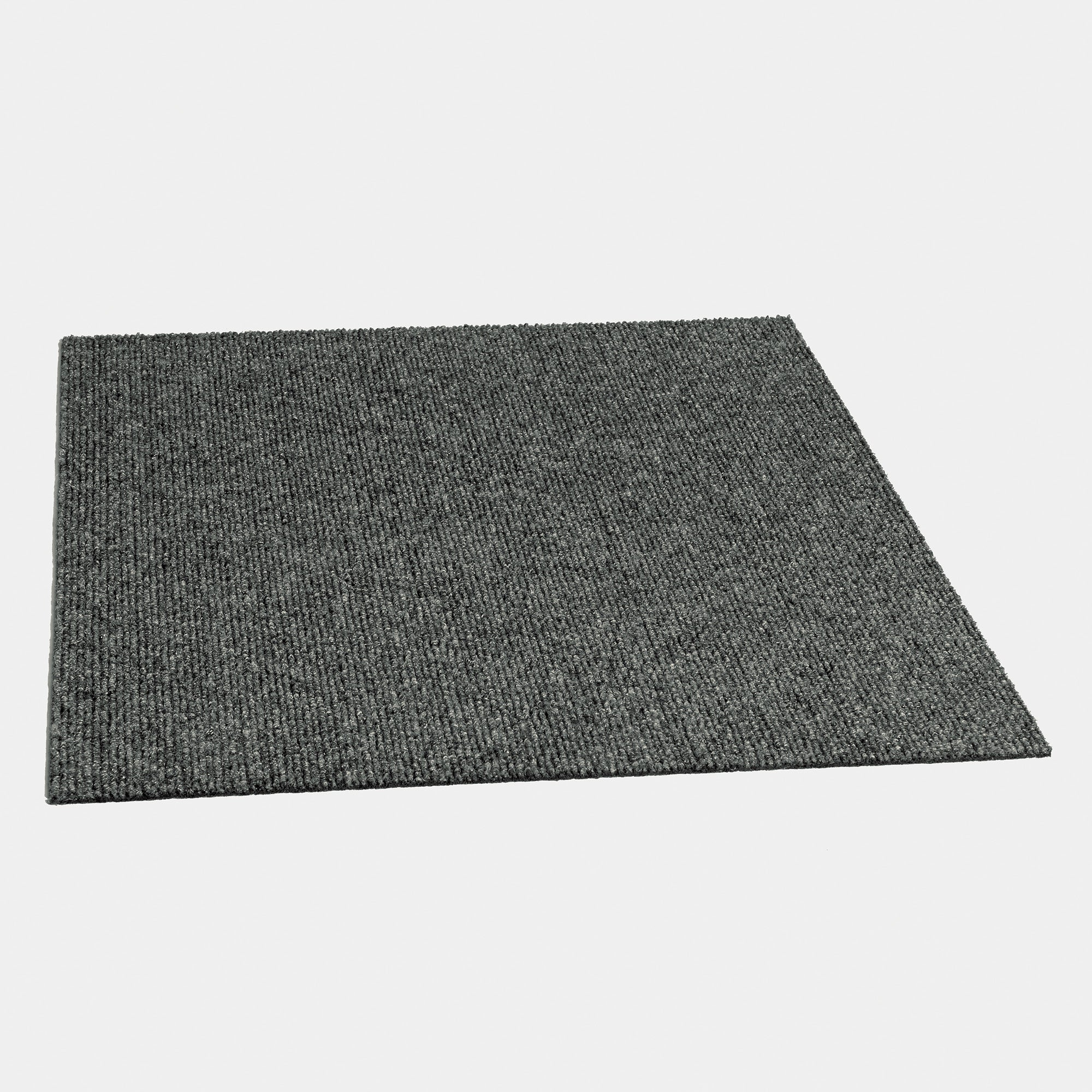 Cosmos 18'' X 18'' Premium Peel And Stick Carpet Tiles (Sky Grey)