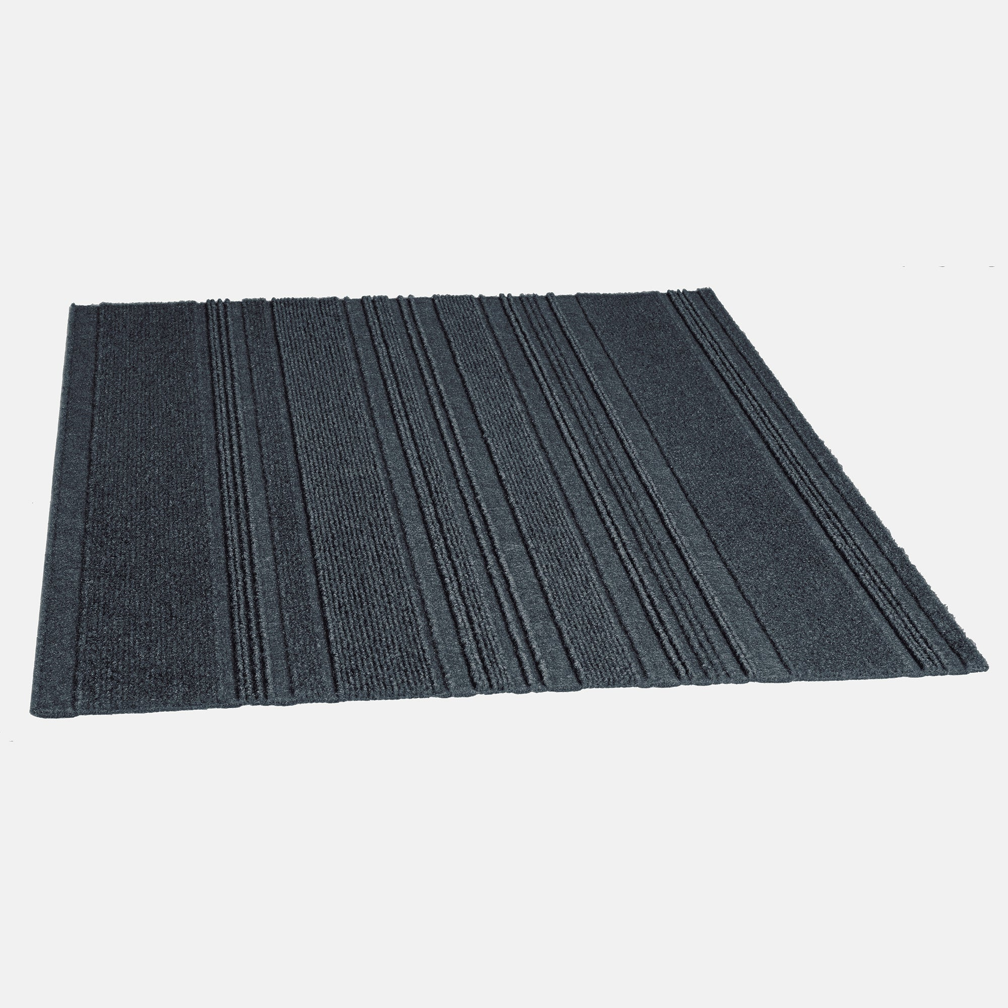 Issac 24'' X 24'' Premium Peel And Stick Carpet Tiles (Denim)