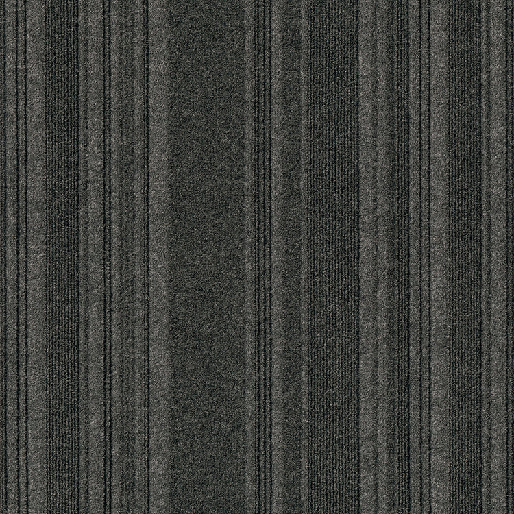 Issac 24'' X 24'' Premium Peel And Stick Carpet Tiles (Black Ice)