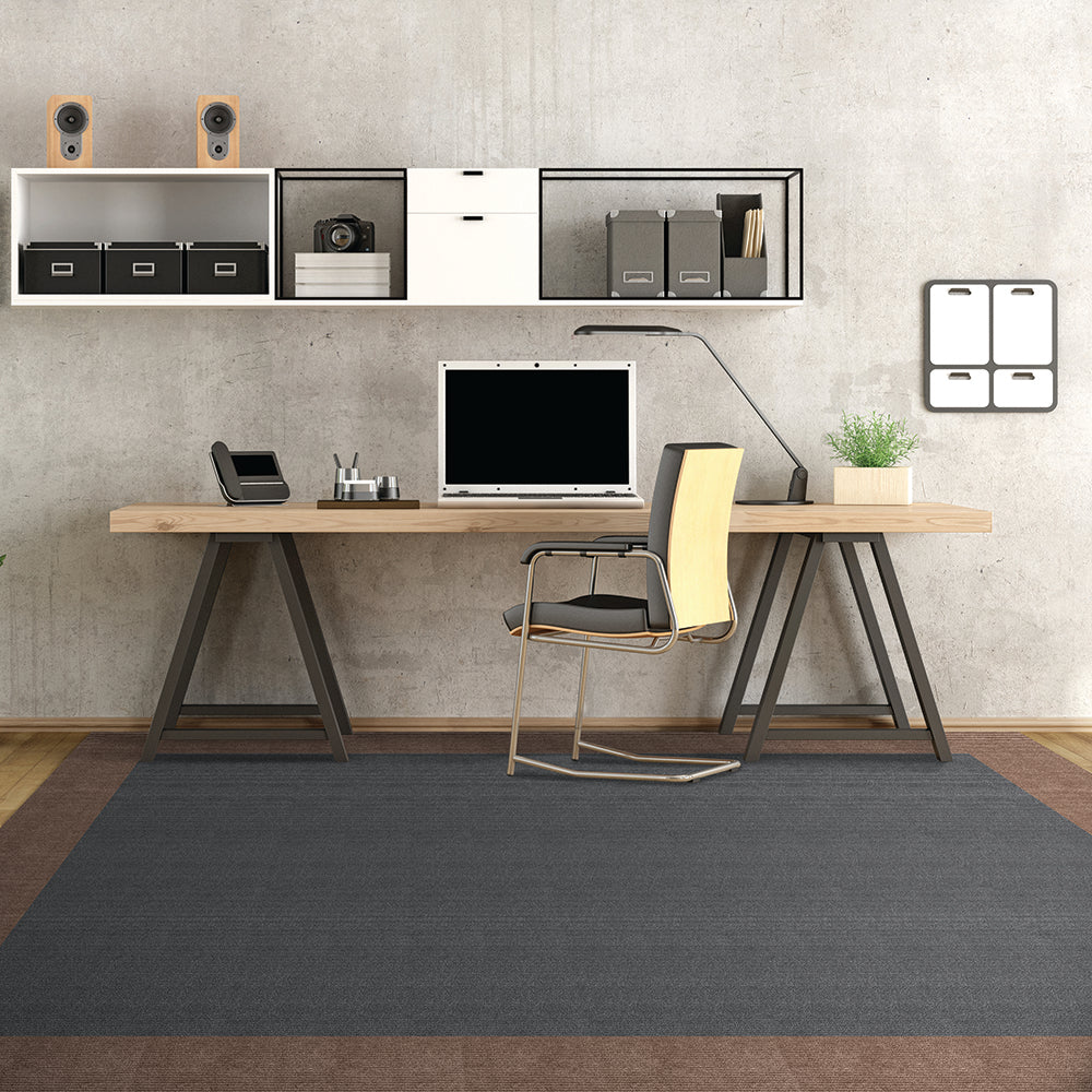 Luminary 24'' X 24'' Premium Peel And Stick Carpet Tiles (Shadow)