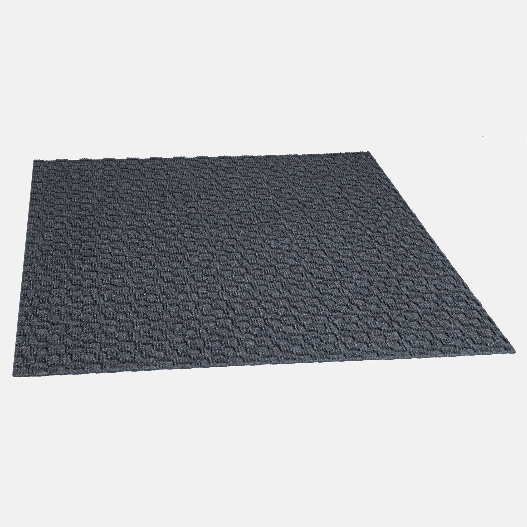 Orbit 24'' X 24'' Premium Peel And Stick Carpet Tiles (Dark Navy)
