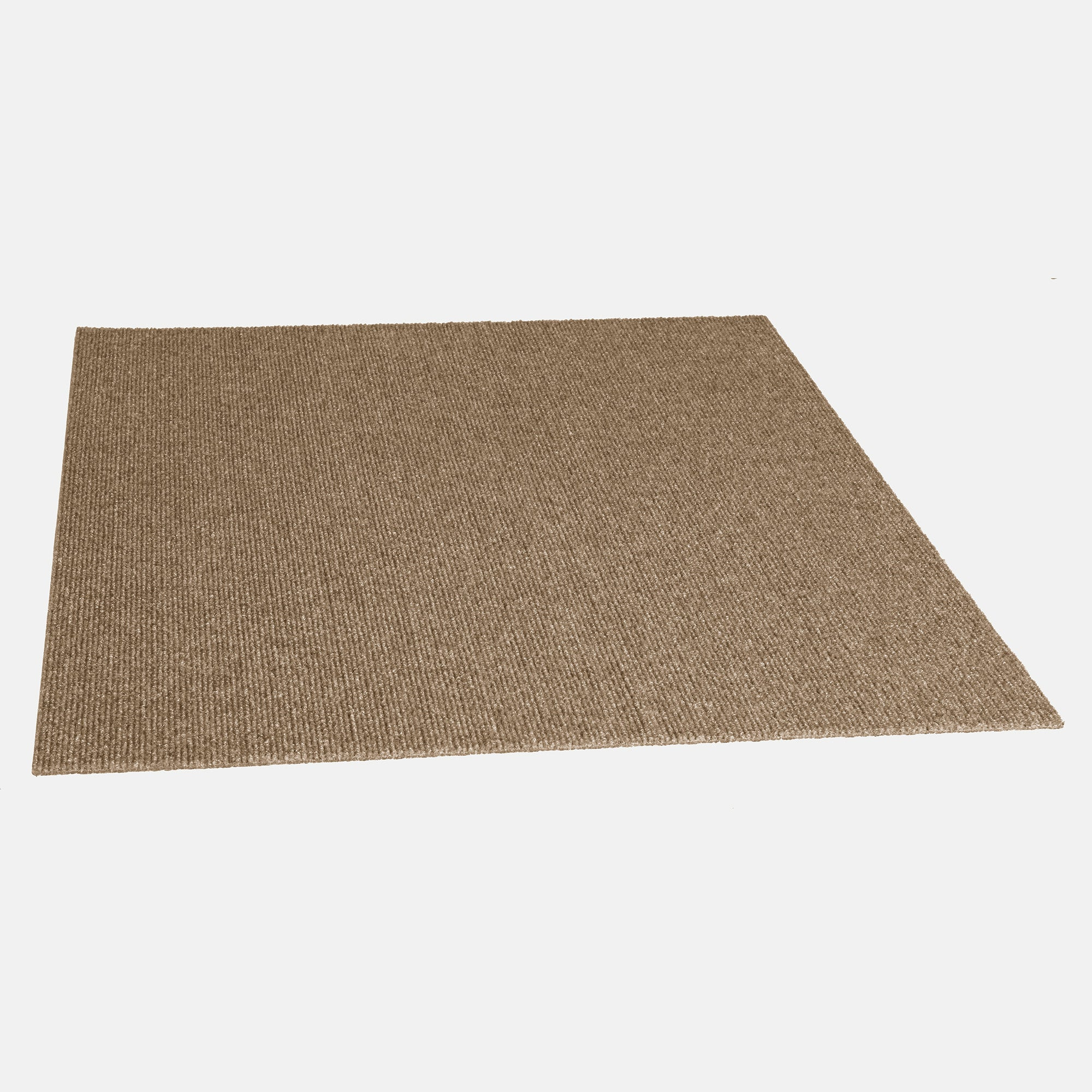 Pioneer 24'' X 24'' Premium Peel And Stick Carpet Tiles (Ivory)