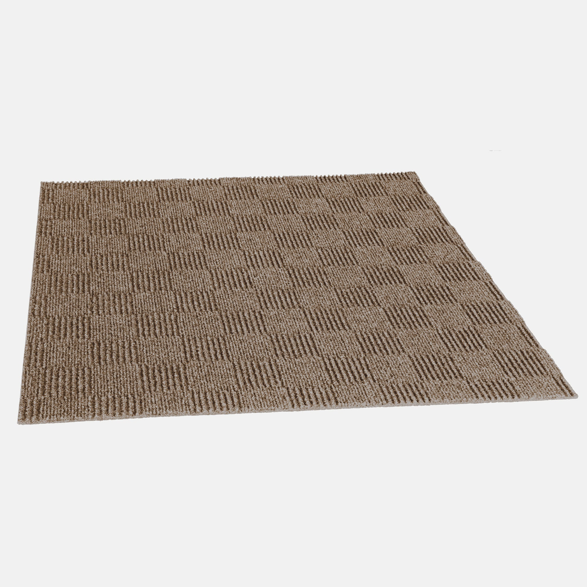 Prism 24'' X 24'' Premium Peel And Stick Carpet Tiles (Taupe)